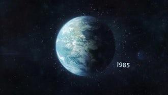 Space Debris In Earth Orbit: Motion Graphics