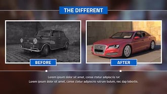 Before And After: After Effects Templates