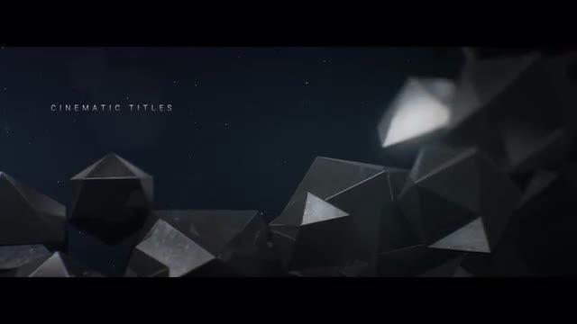 Cinematic Titles: Premiere Pro Templates