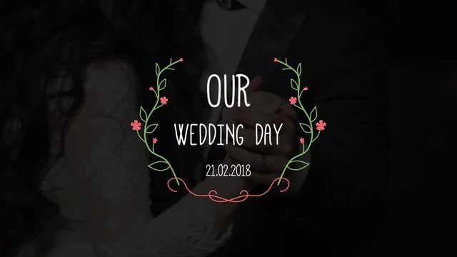 Promo Wedding Titles: After Effects Templates