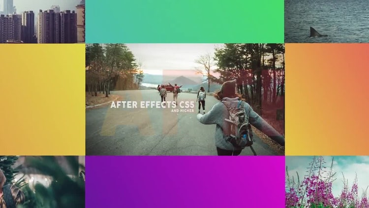 Modern Dynamic Slideshow: After Effects Templates