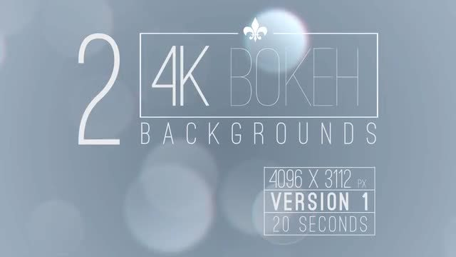 4k Bokeh Background: Stock Motion Graphics