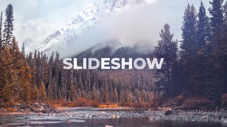 Simple Logo Slideshow: After Effects Templates