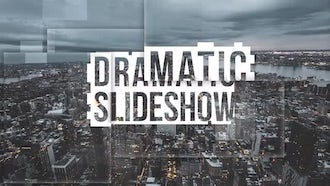Dramatic Slideshow: Premiere Pro Templates