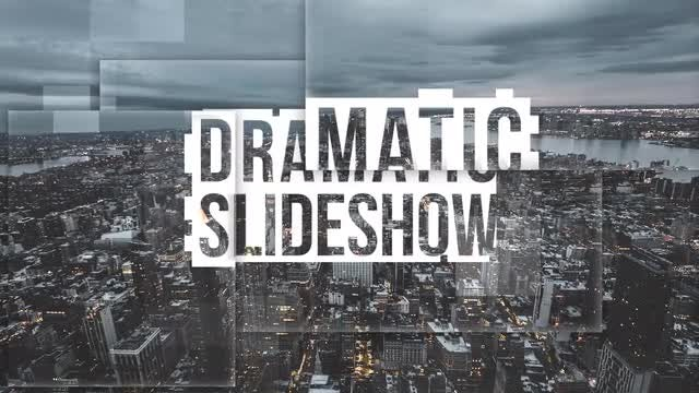 Dramatic Slideshow: Premiere Pro Templates