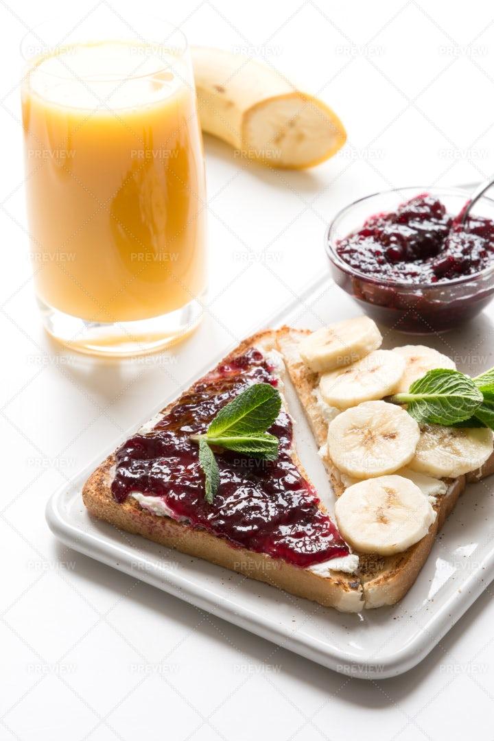Healthy Breakfast: Stock Photos