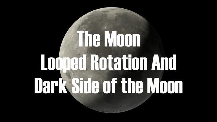The Moon Rotation Loop: Motion Graphics