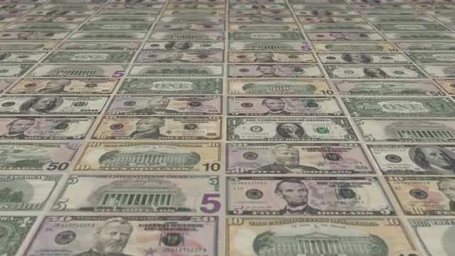 US Banknotes: Stock Motion Graphics