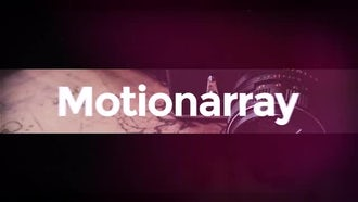 Fast Typography Opener: After Effects Templates