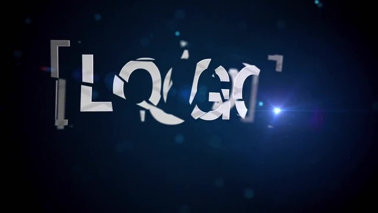 Shattered Logo: After Effects Templates