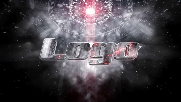 Spaceship Cinematic Logo: After Effects Templates