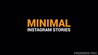 Minimal Instagram Stories: Premiere Pro Templates