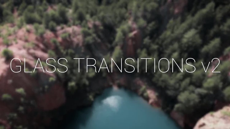 Glass Transitions v2: Premiere Pro Templates