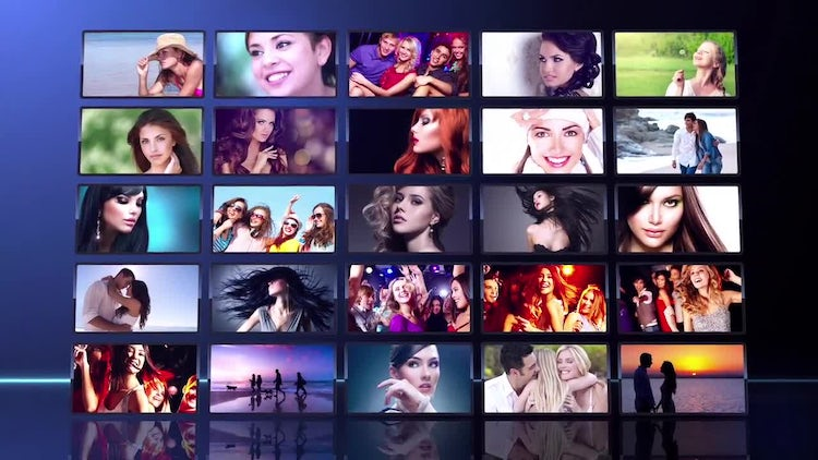 Wall Intro: After Effects Templates