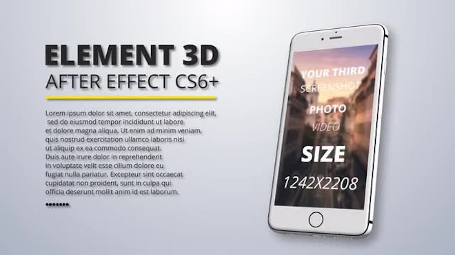 Mobile App Promo After Effects Templates Motion Array