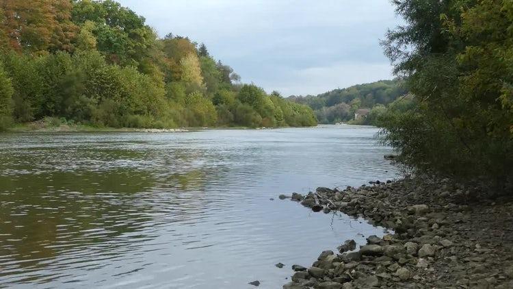 Rippling Water On Lake : Stock Video