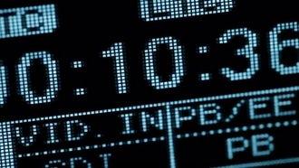 Running Timecode: Stock Video