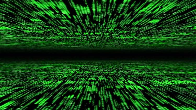 Matrix 3D Background: Stock Motion Graphics