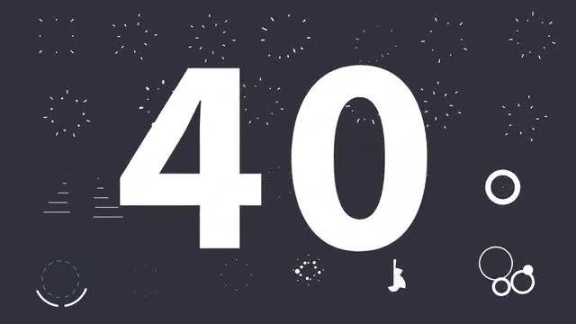 40 Shape Elements: Stock Motion Graphics