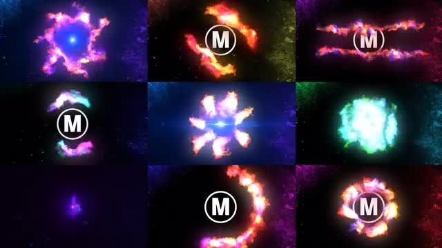 Flame Logo Reveal: After Effects Templates