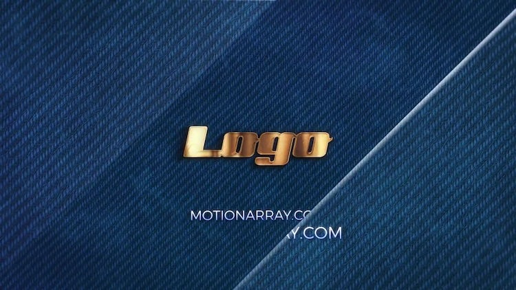 Aged Gold Elegant Logo: After Effects Templates