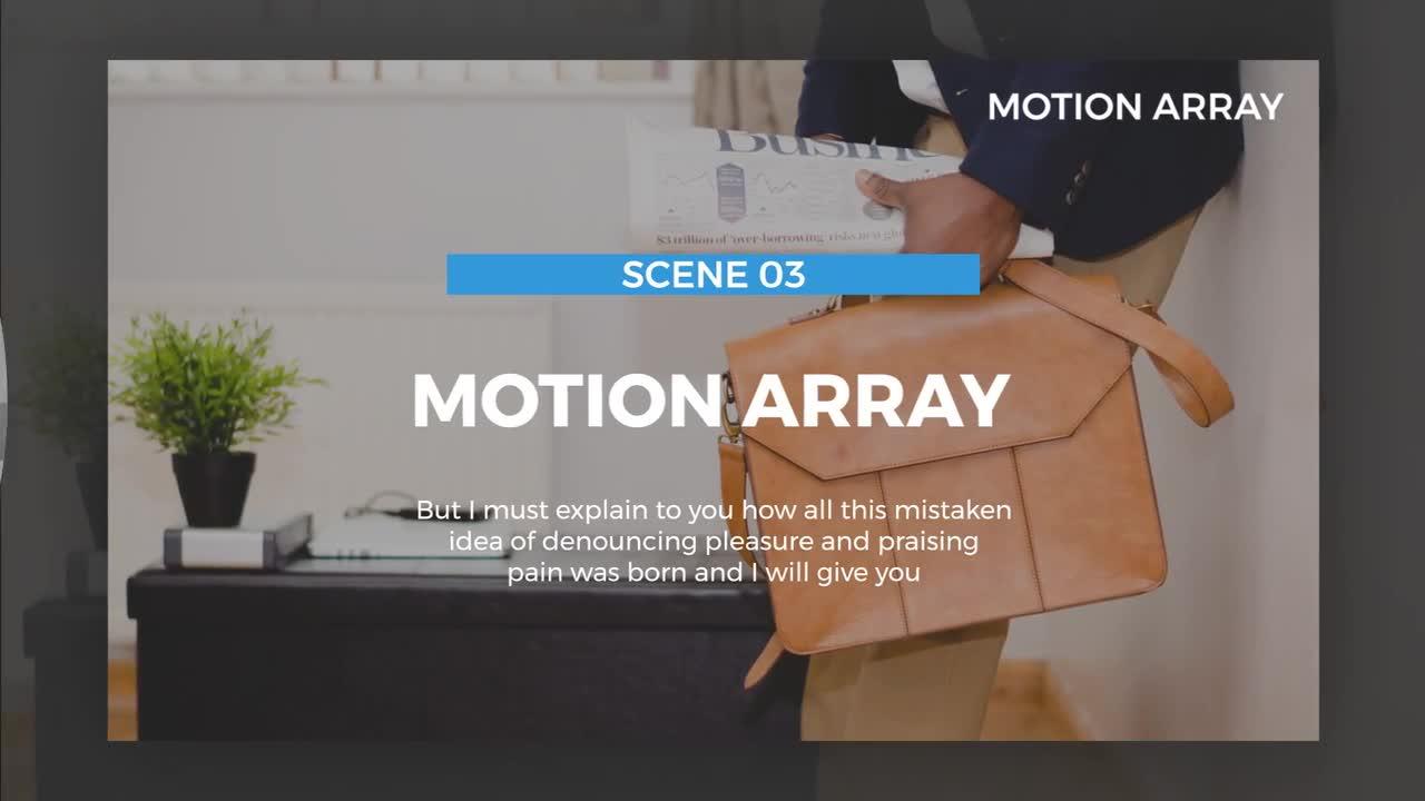 modern slideshow premiere pro templates motion array. Black Bedroom Furniture Sets. Home Design Ideas