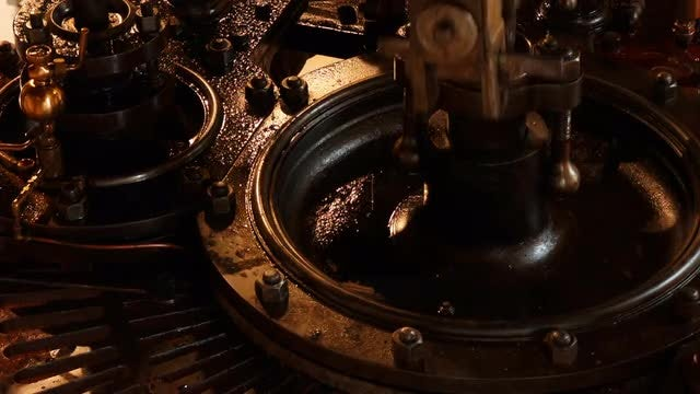 Steam Engine : Stock Video