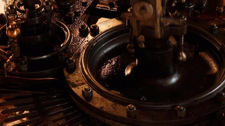 Steam Engine : Stock Video