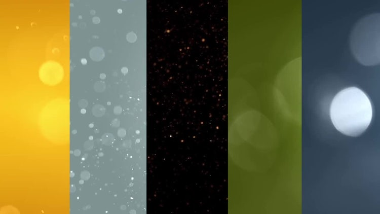 5 Particle Backgrounds: Motion Graphics