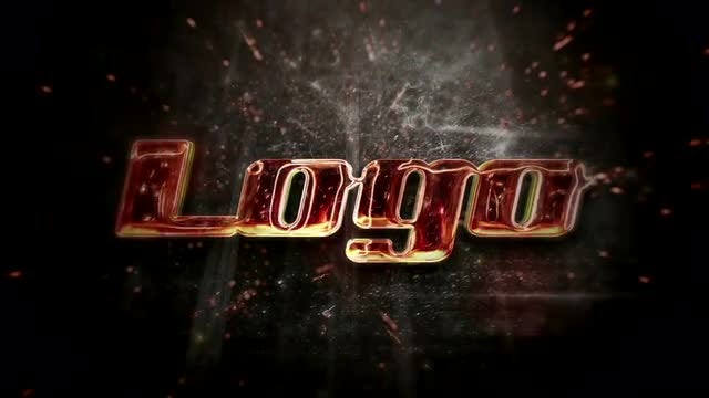 Fire Logo Intro: After Effects Templates