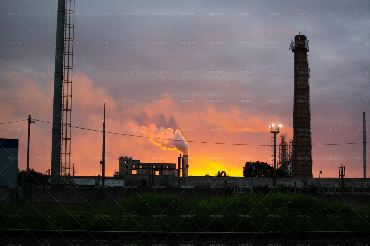 Industrial Plant: Stock Photos