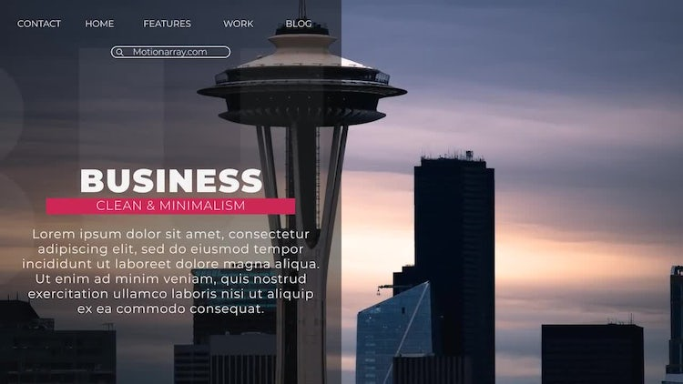 City Slideshow: After Effects Templates