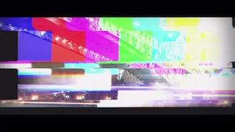 Dubstep Glitch Slideshow: After Effects Templates