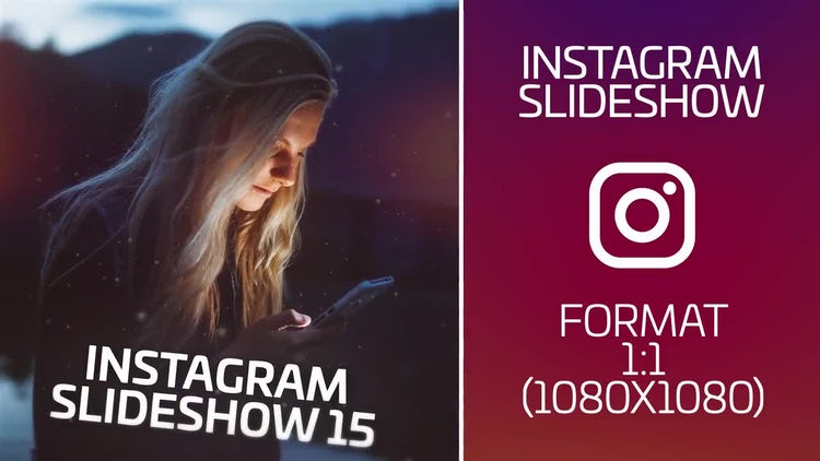 Instagram Slideshow: After Effects Templates