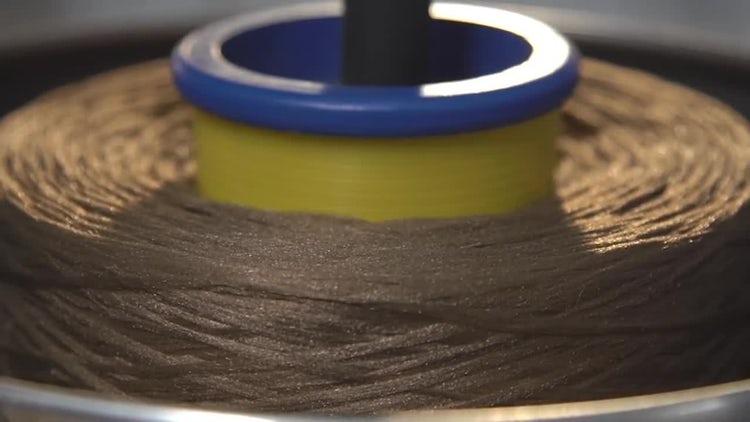Weaving Factory 03: Stock Video