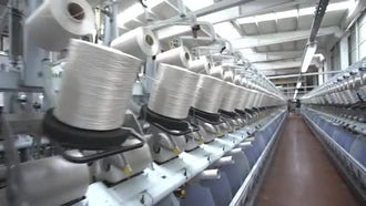 Weaving Factory 10: Stock Video