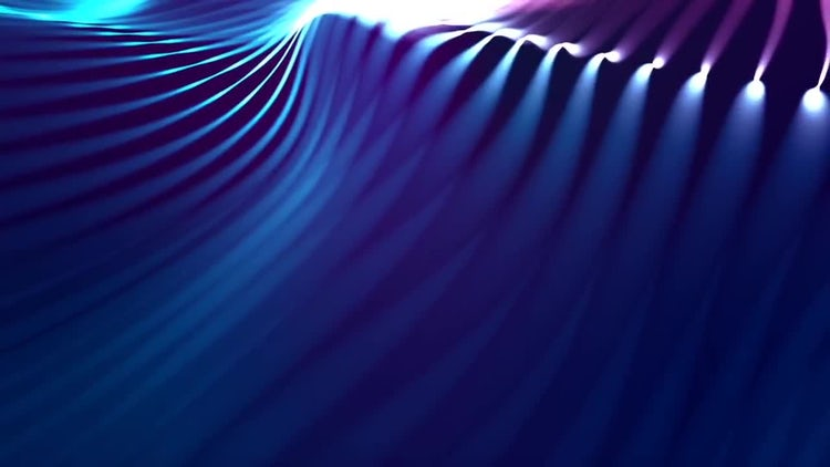 Abstract Strings: Stock Motion Graphics
