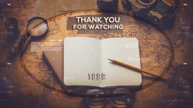 History Timeline II: After Effects Templates