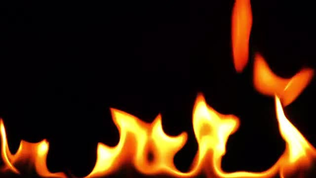 Burning Fire Background Texture 1: Stock Video