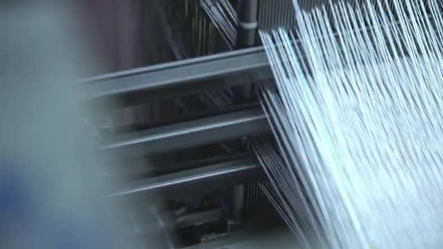 Heavy-Duty Weaving Machine : Stock Video