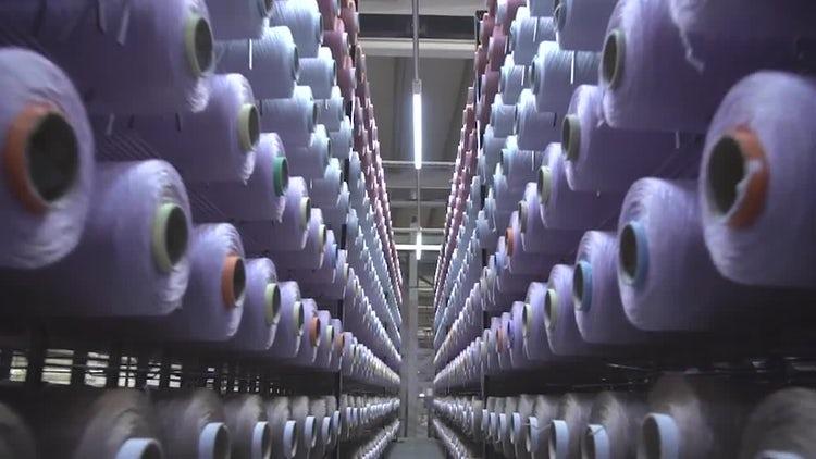 Textile Storage: Stock Video
