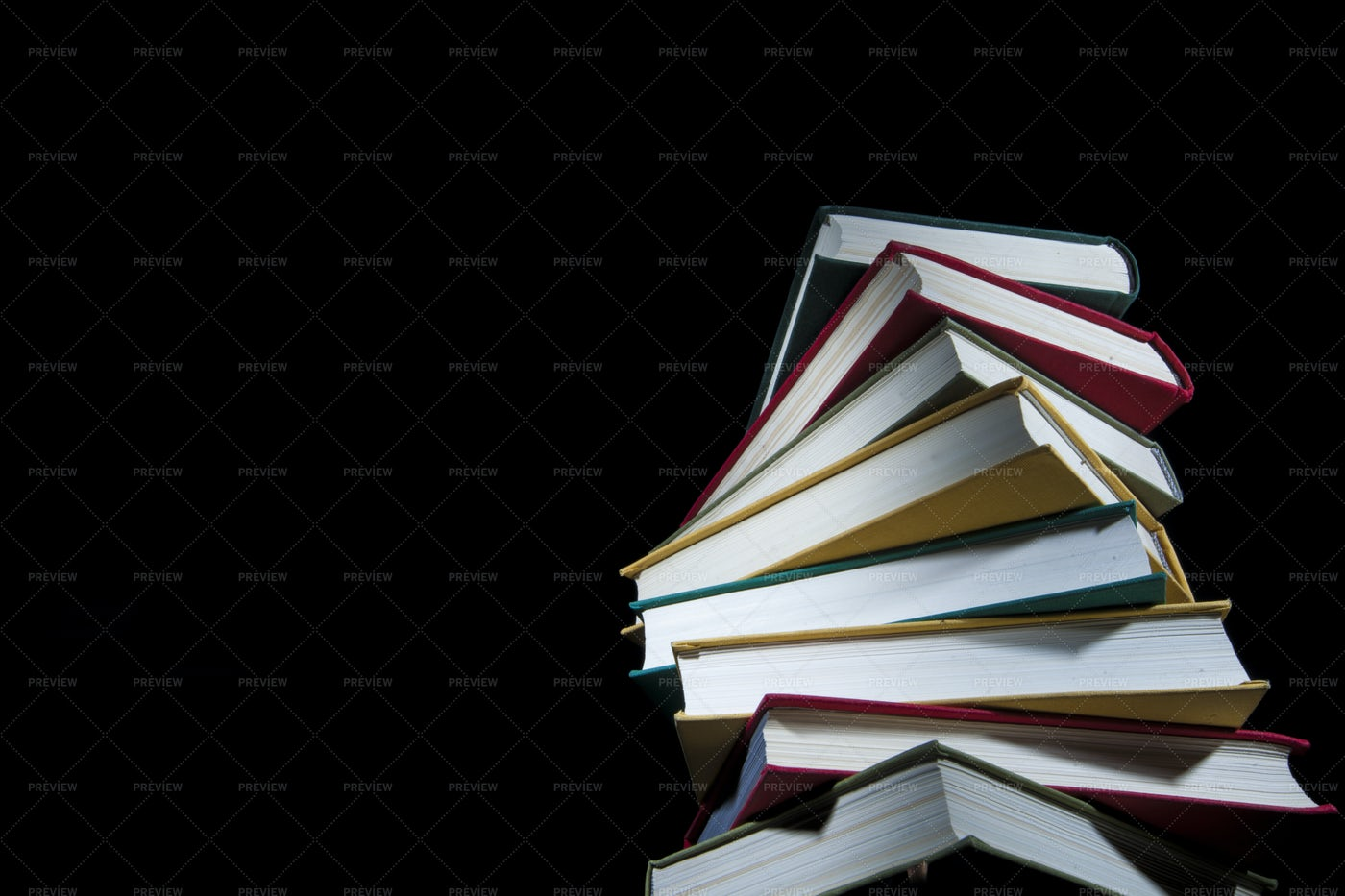 A Stack Of Books: Stock Photos
