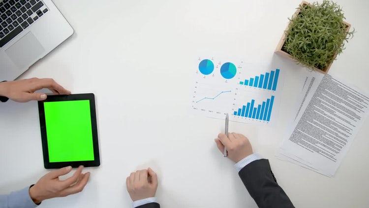 Analyzing Green Screen Data: Stock Video