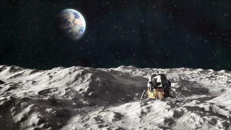 Apollo 11 Moon Landing Pack: Motion Graphics