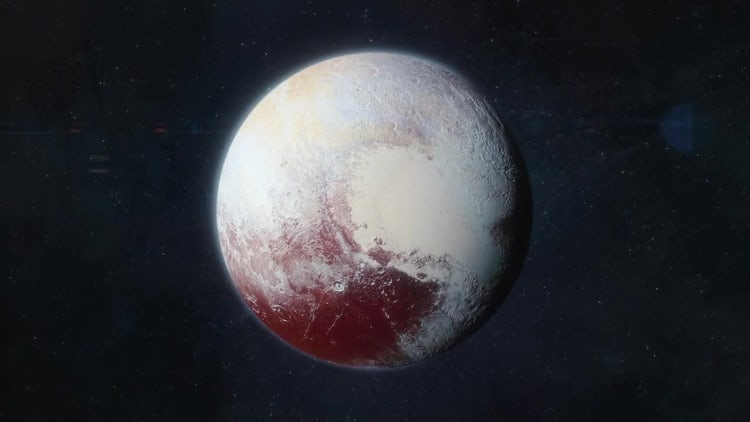 Approaching Pluto: Motion Graphics