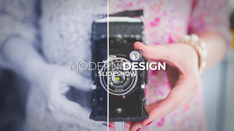 Dynamic Lines Slideshow: After Effects Templates