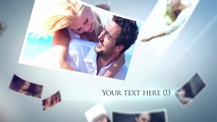 Floating Photos: After Effects Templates