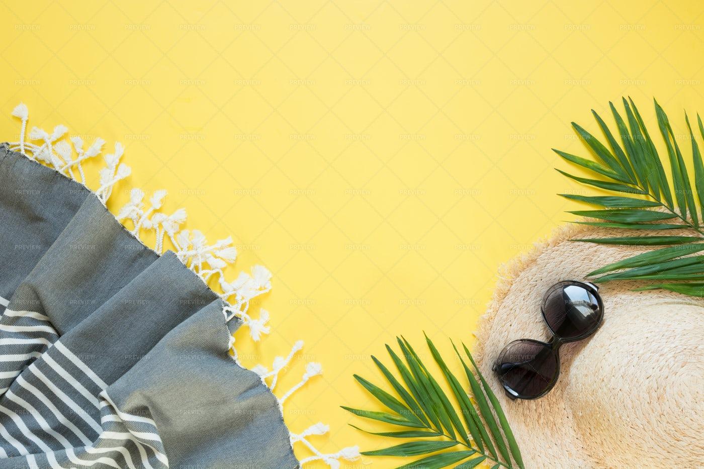 Beach Items: Stock Photos