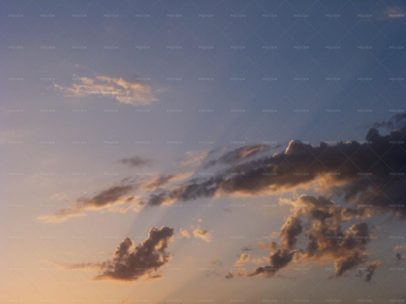 Clouds At Sunrise: Stock Photos