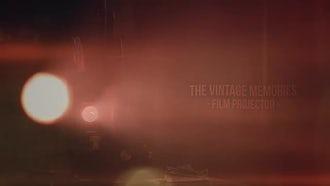 Vintage Memories - Film Projector: Premiere Pro Templates